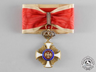 Serbia, Kingdom. An Order of Karageorge, III Class Commander, by Bertrand, Paris, c.1918