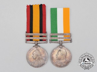 A South African War Pair to the Royal Army Medical Corps