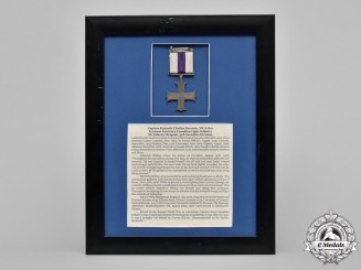 Canada. A Military Cross & Bar to the Capt. Burness, PPCLI, 2nd University Company