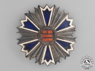 Korea, Empire. An Order of the Eight Trigrams, Second Class Star, c.1910