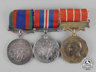 Canada. A Second War Trio to Sergeant G.D. Carter