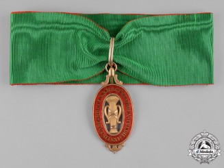 Sweden, Kingdom. An Order of Vasa in Gold, I Class Commander, c.1815