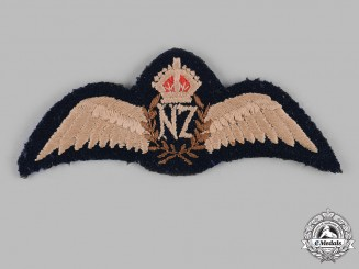 New Zealand. A Royal New Zealand Air Force (RNZAF) Pilot's Badge, c.1944
