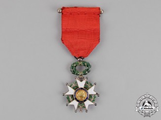 France, Third Republic. A Legion D'Honneur, Knight, c.1917