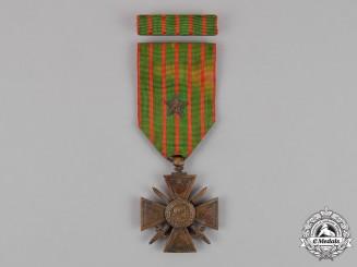 France, Republic. A Croix de Guerre, c1914-1918