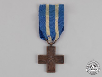 Italy, Kingdom. A First War Italian War Merit Cross