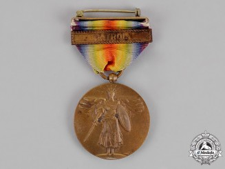 United States. A World War I Victory Medal, Patrol