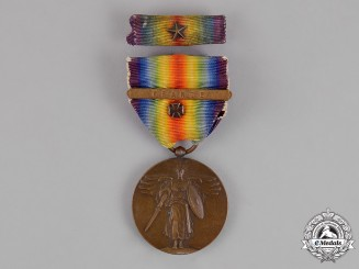 United States. A World War I Victory Medal, France