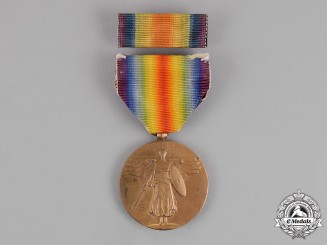 United States. A World War I Victory Medal