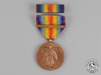 United States. A World War I Victory Medal, Russia