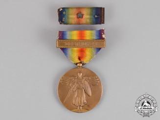 United States. A World War I Victory Medal, Destroyer
