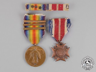 United States. A First War Veteran's Pair