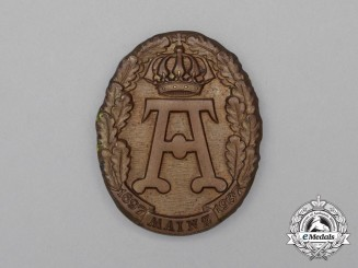 A 1937 240-Year Anniversary of the City of Mainz Badge