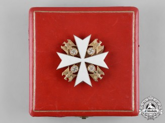 Germany, Third Reich. An Order of the German Eagle, II Class Cross, by Gebrüder Godet & Co.
