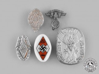 Germany, HJ. A Lot of Commemorative Badges