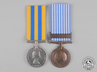 Canada. A Korean War Pair, to R.F. Jackson