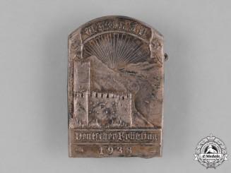 Germany, Third Reich. A 1938 Wachau German Spring Awakening Badge by Ph. Türks Witwe