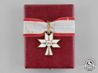 Croatia, Independent State. An Order of King Zvonimir's Crown, I Class with Case, c.1941