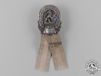 Germany, Weimar Republic. A Bavarian Veterans Association Badge by G. Lindner