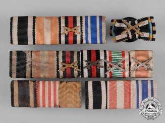 Germany, Heer. A Group of First War Period Medal Ribbon Bars