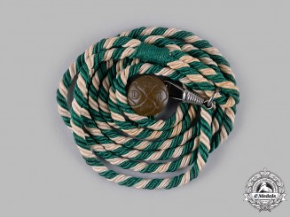 Germany, JM. A Young Girls' League (JM) Jungmädelgruppenführerin Rank Cord