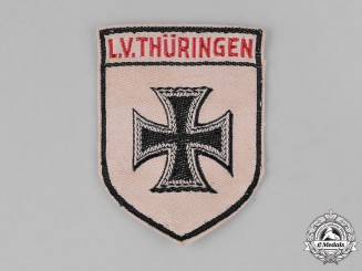 Germany, Weimar. A Stahlhelm Thüringen (Thuringia) Sleeve Patch