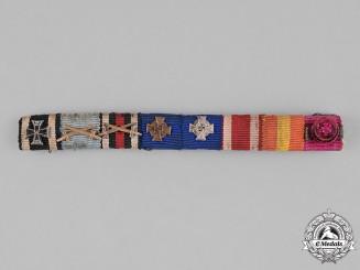 Germany, Wehrmacht. A First War & Spanish Civil War Ribbon Bar