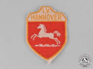 Germany, Weimar. A Stahlhelm Hannover Sleeve Patch