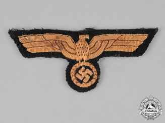 Germany, Kriegsmarine. A Kriegsmarine Officer's Breast Eagle, Uniform Removed