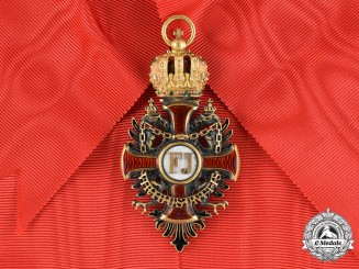 Austria, Imperial. An Order of Franz Joseph in Gold, I Class Sash Badge, by V.Mayer, c.1910