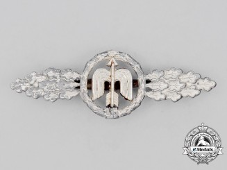 A Silver Grade Luftwaffe Squadron Clasp for Short Range Day Fighters