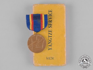 United States. A Yangtze Service Medal, Numbered, in Case