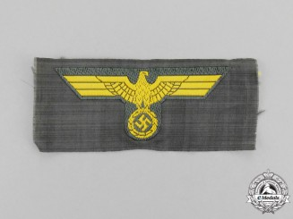 A Mint and Unissued Kriegsmarine Coastal Artillery EM/NCO Overseas Cap Eagle