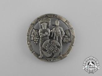 A Third Reich Period KDF (Strength Through Joy) Saar Pfalz Badge