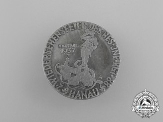 A 1937 Hanau Unification Badge for the Reserve Infantry Regiment 88 by Heinrich Muth