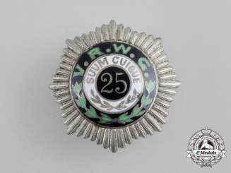 A German Imperial Guards Veterans Society Twenty-Five Years' Service Badge