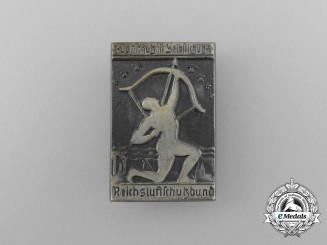 "A Third Reich Period RLB ""Air Raid Protection is Self Protection"" Badge by Karl Wurster"