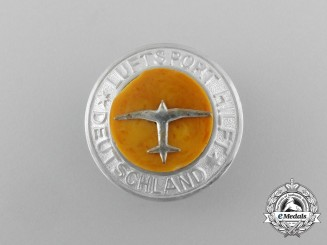 "A Third Reich Era ""Luftsport Helps Germany"" Donation Badge"