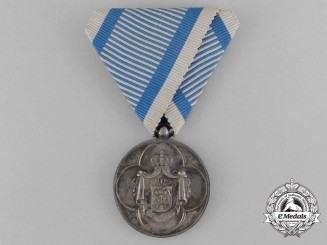 A Serbian Medal for Service to the Royal Household (1882-1889)