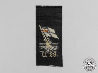 U-29 Cloth Patch