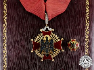 Spain. An Order of Cisneros in Gold & Brilliance, Commander, c.1974