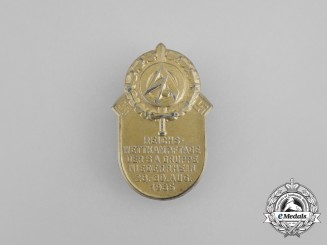 A 1935 SA Group Niederrhein National Championships Badge