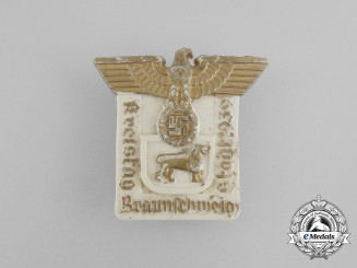 A 1939 NSDAP Braunschweig District Council Day Badge