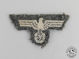 Germany. A Second War Period Wehrmacht Heer (Army) Field Cap Eagle