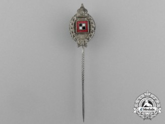A Miniature First War Prussian Observer's Badge Stick Pin