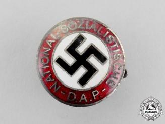 A NSDAP Party Member's Lapel Badge by Seiler & Comp of Geldern