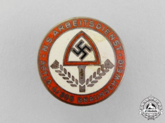 An NSDAP National Labour Service Division 4/305 Braunschweig Badge