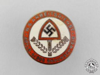Germany, NSDAP. A National Labour Service Division 4/305 Braunschweig Badge