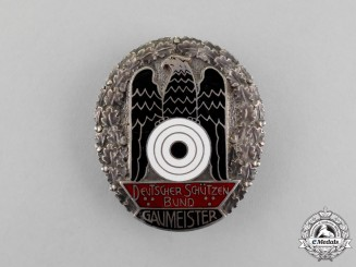 A 1932/33 German Marksmanship League Gaumeister Badge