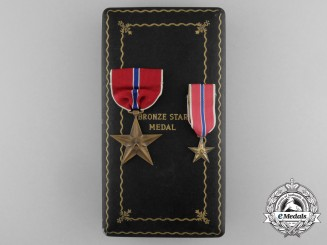 United States. A Bronze Star to Stewart M. Anderson